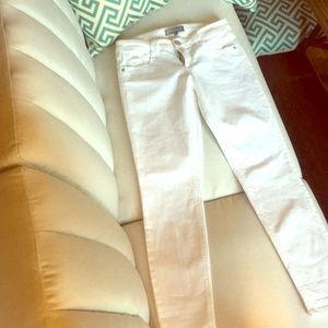 Wit and Wisdom white bootcut jean size 6